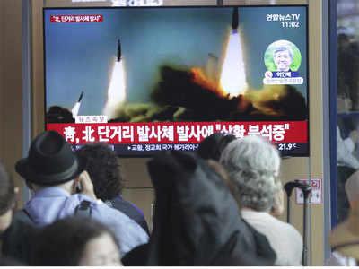 कम दूरी के मिसाइलों का किया परीक्षण