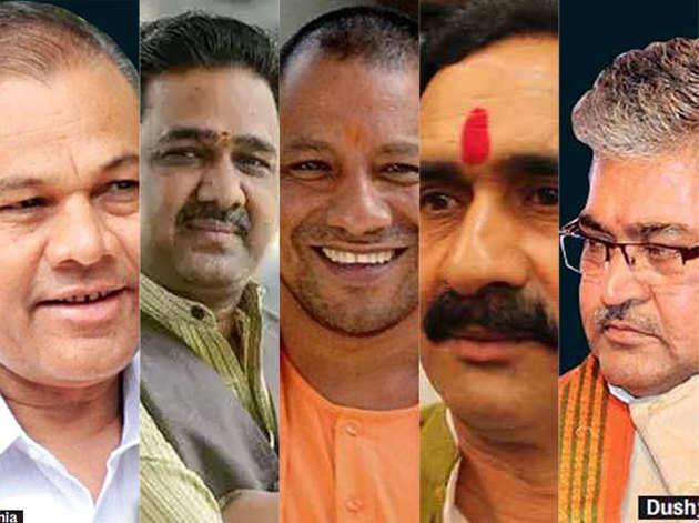 यूपी में खामोशी से मिशन में जुटे हैं बीजेपी के 'पांडव'