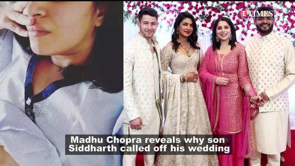 reason why priyanka chopras brothers marriage was called off