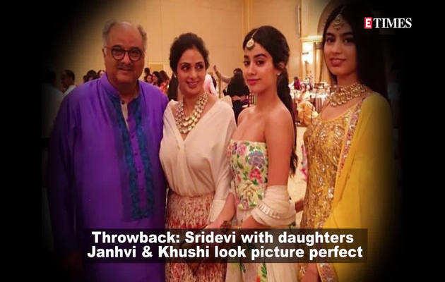 श्रीदेवी की जाह्नवी और खुशी के साथ ली गई पुरानी तस्वीर वायरल