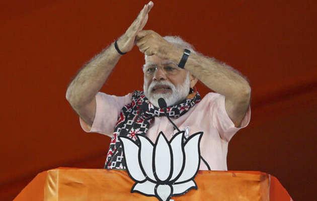 पीएम नरेंद्र मोदी की खुली चुनौती, राजीव गांधी के नाम पर चुनाव लड़े कांग्रेस