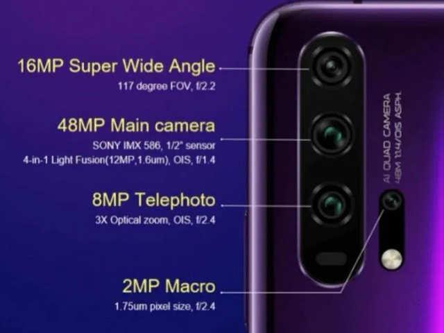 जबरदस्त कैमरे के साथ आएंगे Honor 20 Pro और Honor 20, मिलेगा एक अलग मैक्रो कैमरा भी