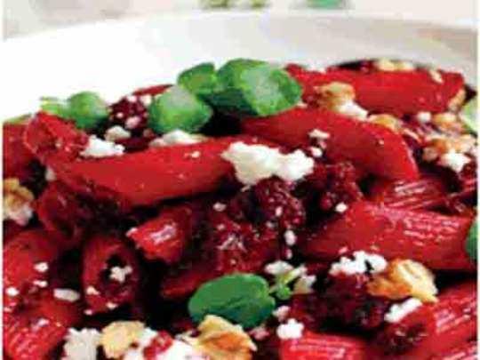 बिटाचा पौष्टिक पास्ता