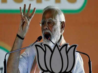 राजीव गांधी पर पीएम का फिर हमला, कहा INS विराट पर परिवार संग मनाई छुट्टियां