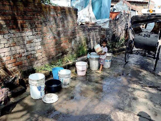 bardhaman municipality drinking water problems in summer
