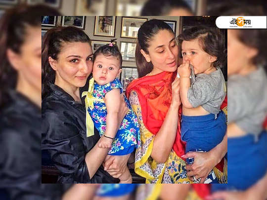 soha ali khan reveals that cousins taimur and inaaya learn from each other and are caring towards one another