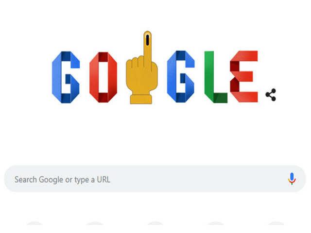 आज सातवें चरण का मतदान, Google ने वोटर्स के नाम किया Doodle