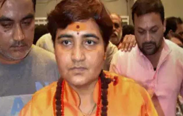 लोकसभा चुनाव 2019: साध्वी प्रज्ञा सिंह ठाकुर ने किया मतदान