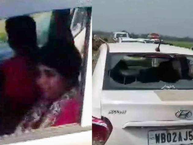 भारती घोष और टूटी गाड़ी