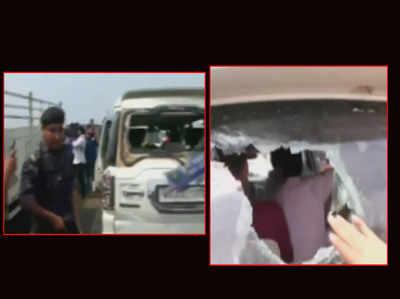 लोकसभा चुनाव: पश्चिम बंगाल में छठे चरण में भी हिंसा, बीजेपी कैंडिडेट की गाड़ी पर हमला