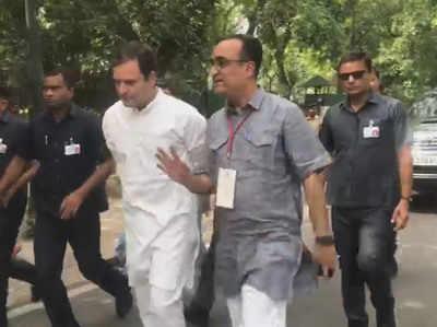 लोकसभा चुनाव 2019 बेरोजगारी, नोटबंदी और भ्रष्टाचार के मुद्दे पर लड़ा गया: राहुल गांधी