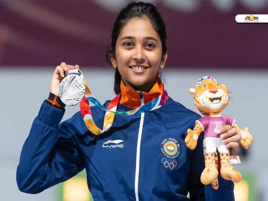 shooter mehuli ghosh sponsorship controversy and show cause.