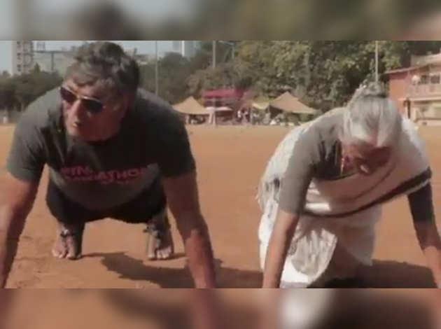 मिलिंद सोमन ने मदर्स डे पर फैंस को किया विश, पोस्ट किया स्पेशल विडियो