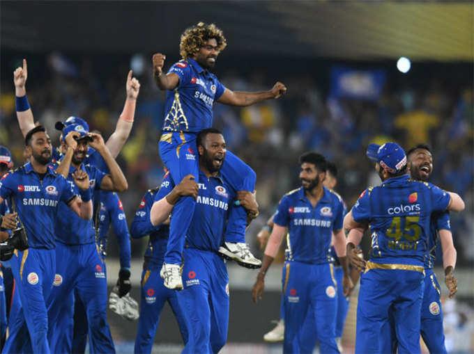 आयपीएल: मुंबईच किंग, चौथ्यांदा विजयी