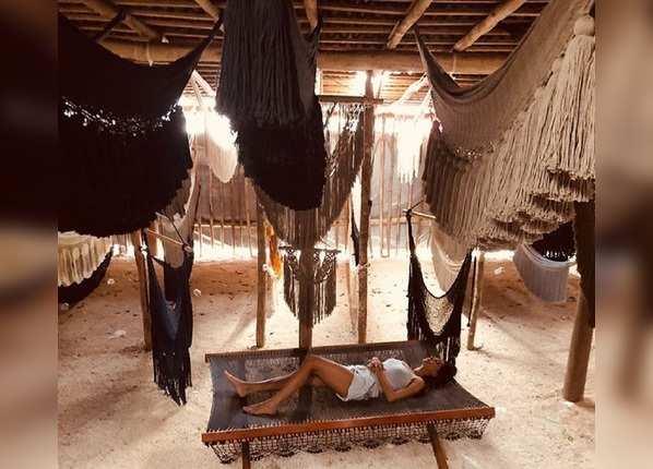 मेक्सिको में छुट्टियां मनाने के दौरान भी दिखा था हॉट अवतार