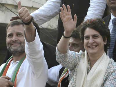 राहुल गांधी और प्रियंका गांधी (फाइल फोटो)