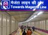 dust storm hits magenta line of delhi metro