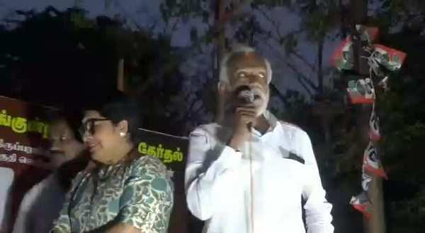 bjp cheating people says makkal needhi maiam party member kovai sarala