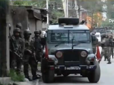 पुलवामा: सुरक्षाबलों के साथ मुठभेड़ में दो आतंकी ढेर