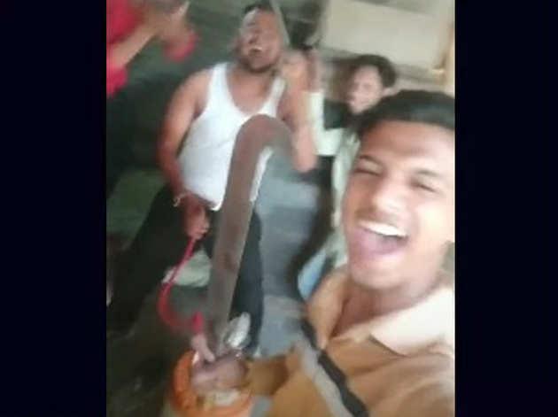 टिकटॉक विडियो से ली गई तस्वीर