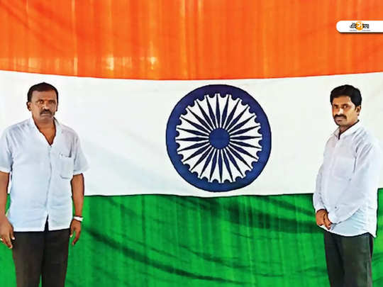 Weaving the Tricolour as one fabric without a single stitch or attachment was the dream of R Satyanarayana in Andhra Pradesh
