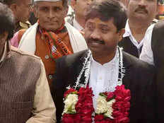 five crore extortion demanded from up cabinet minister nand gopal gupta nandi