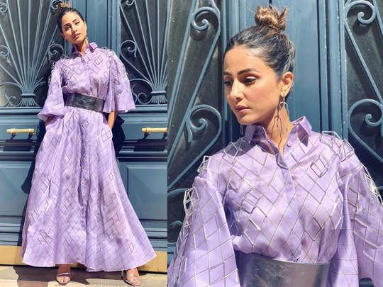 Hina Khan at Cannes Film Festival