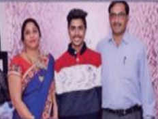 siddharth is partially disabled but his result gives great pleasure to his family