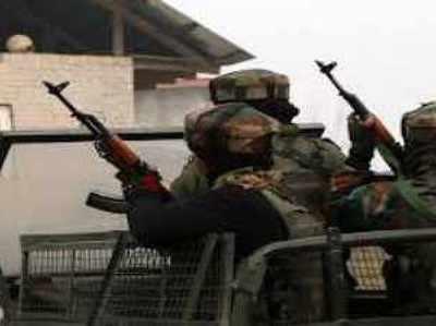 पुलवामा में सुरक्षाबलों के साथ मुठभेड़ में 1 आतंकवादी ढेर