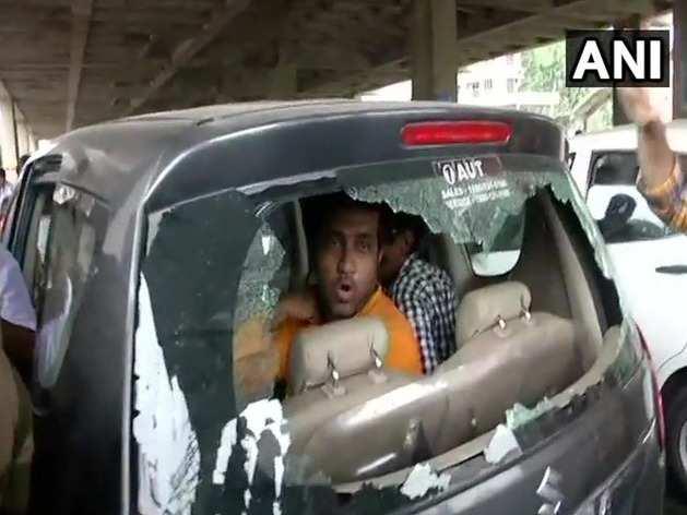बीजेपी ने टीएमसी पर हमले का लगाया आरोप