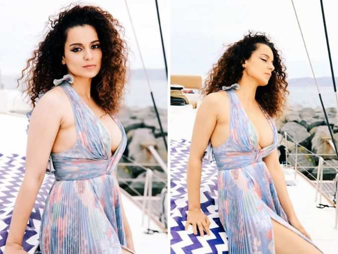 movie kangana ranaut super bold look in cannes | Navbharat Times Photogallery