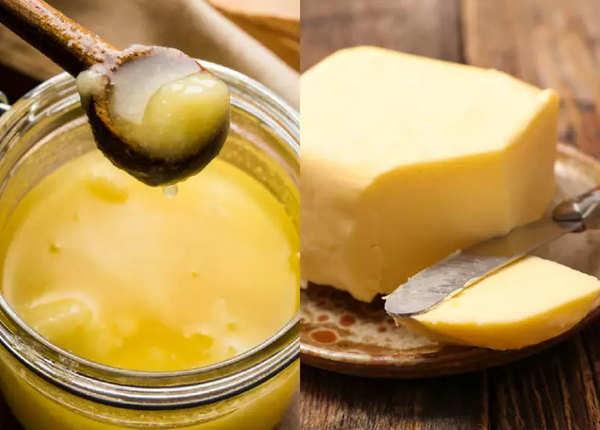 जानें, घी और बटर में क्या है सेहत के लिए बेहतर