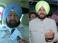 punjab cm captain amarinder singh says navjot singh sidhu probably wants to become cm