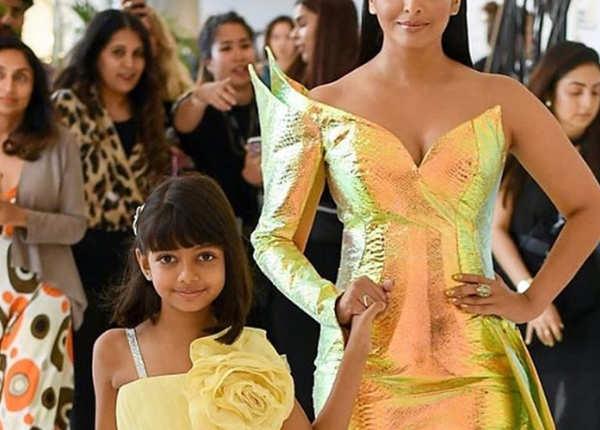 बेटी आराध्या बच्चन भी साथ