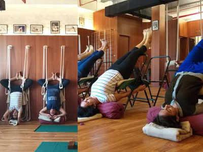 तस्वीर साभार: ASMYI Iyengar Yoga फेसबुक पेज