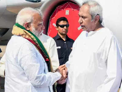 पीएम मोदी और मुख्यमंत्री नवीन पटनायक (फाइल)