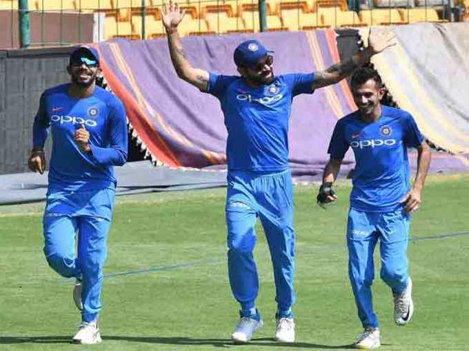 वर्ल्ड कप स्पर्धेपूर्वी टीम इंडिया सुट्टीवर!