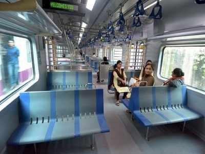சென்னை - செங்கல்பட்டு குளுகுளு பயணத்திற்கு ரெடியா? Ac-local-train