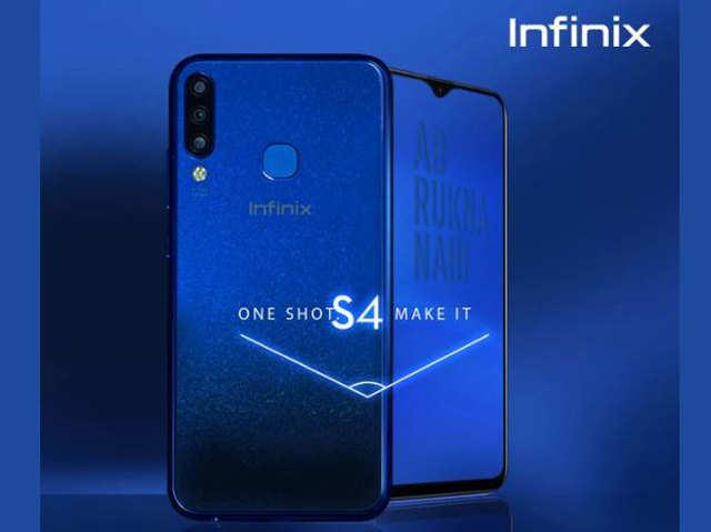 32MP सेल्फी कैमरे के साथ Infinix S4 लॉन्च, ₹8,999 है कीमत