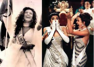 former miss universe sushmita sen celebrates 25 years of winning miss universe title