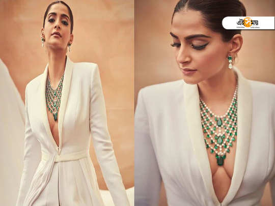 Cannes 2019: Sonam Kapoor adds wings to bold white power suit for first red carpet look