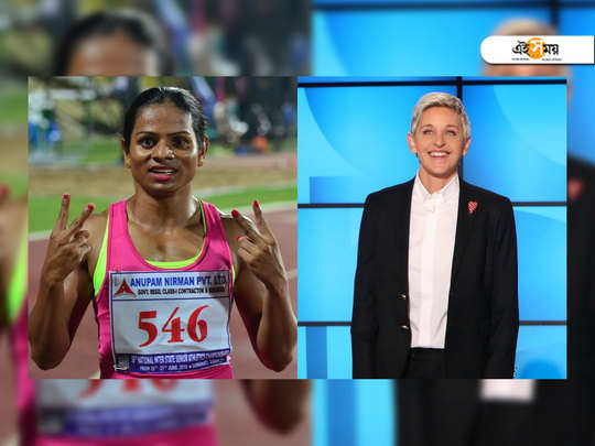 ellen degeneres comes in support of dutee chand and proclaims that she is proud of her