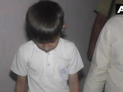 अपहरणकर्ता से बरामद किया गया बच्चा