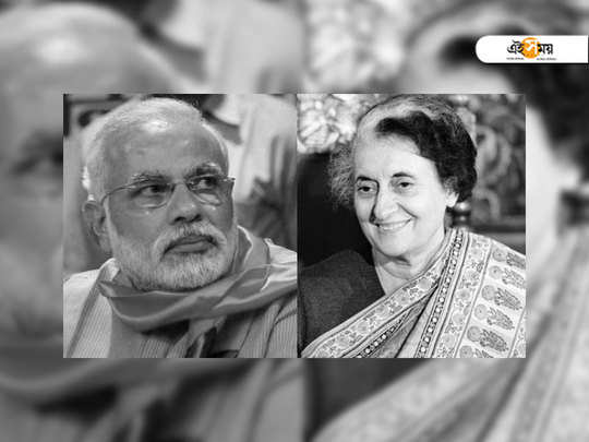 there is no need to compare indira gandhi and narendra modi