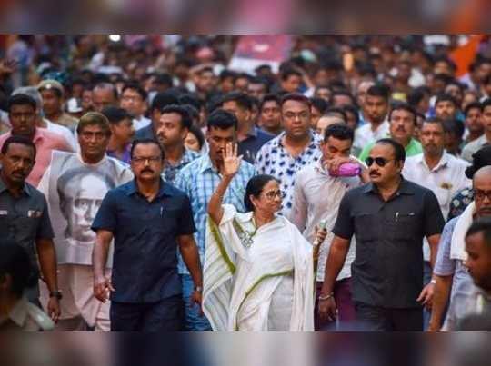 Kolkata: West Bengal Chief Minister and Trinamool Congress chief Mamata Banerjee...