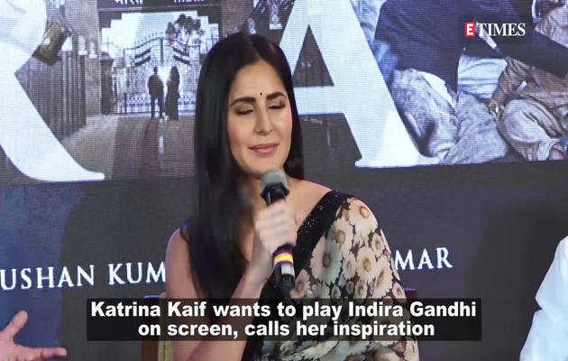 इंदिरा गांधी की भूमिका निभाना चाहती हैं कटरीना कैफ