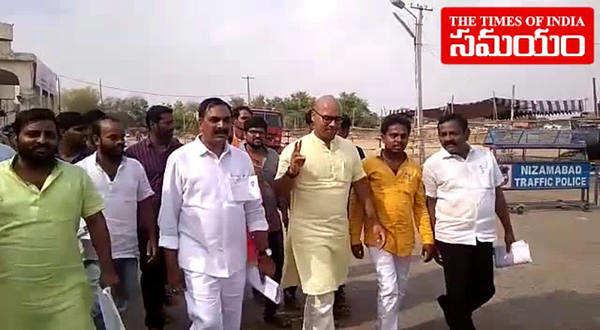 kalvakuntla kavitha defeat in nizamabad lok sabha constituency