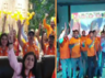 lok sabha elections 2019 bjp supporters from dubai and australia celebrate