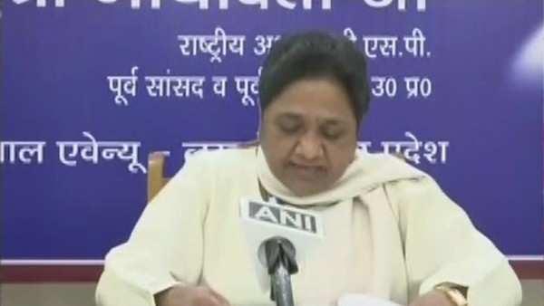 bsp supremo mayawati reiterates accusations of evm tampering