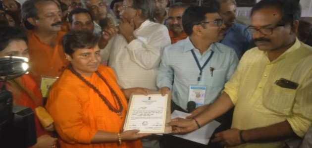 भोपाल लोकसभा सीट: प्रज्ञा ठाकुर ने 3,64,822 वोटों के अंतर से दिग्विजय सिंह को हराया